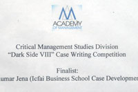 Dark Side VIII Case Writing Competition Finalist
