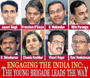 Forthcoming Case Study - Engage The India Inc: The Young Brigade Leads The Way