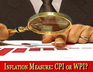 Inflation Measure: CPI or WPI?